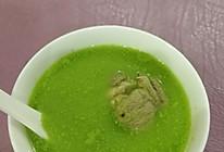 青豆大骨汤的做法