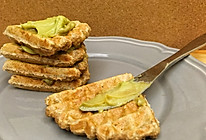 全麦华夫饼(超级快手一比一比一比一早餐) —— 一人食的做法
