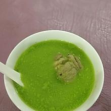 青豆大骨汤