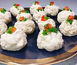 不油腻又嫩又好吃的豆腐丸子的做法