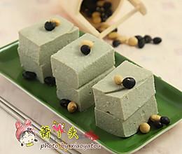 家庭自制健康黑豆腐的做法