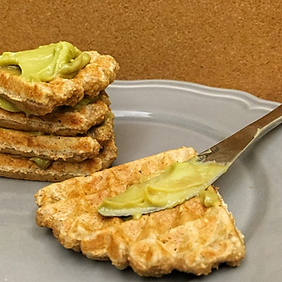 全麦华夫饼(超级快手一比一比一比一早餐) —— 一人食