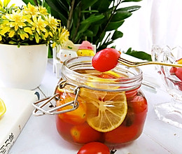 #炎夏消暑就吃「它」#冰镇话梅渍小番茄的做法