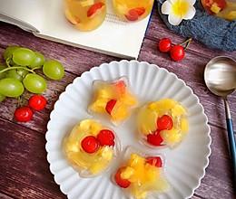 #夏日撩人滋味#水果果冻(凉粉版)的做法