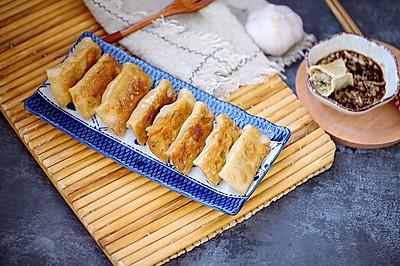 西葫芦锅贴