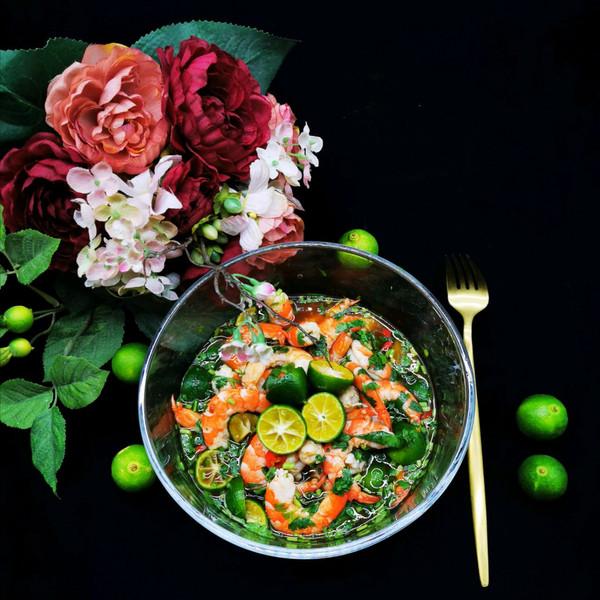 泰式青柠虾的做法