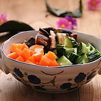 减肥食谱|酱香花菇鸡丁的做法图解3