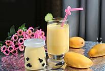 酸奶芒果的做法