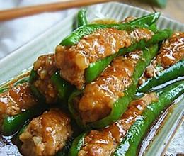 煎酿辣椒的做法