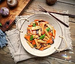香菇烧腐竹——下饭菜带来的幸福感!的做法