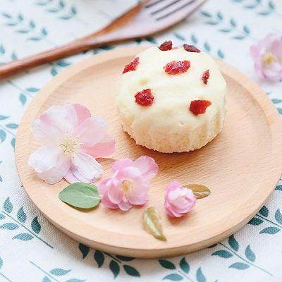 无油糯米蒸蛋糕