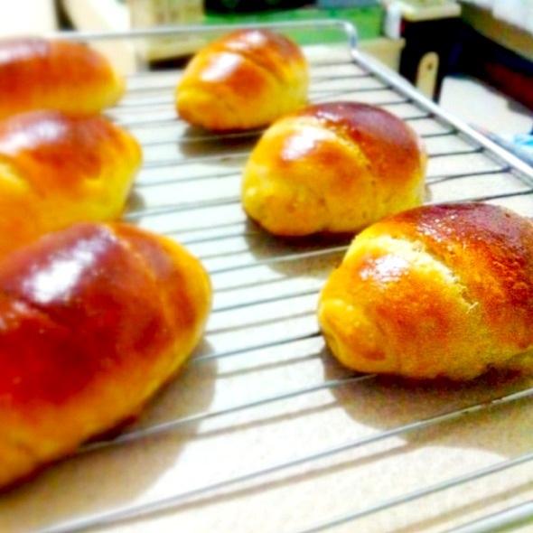 黄油奶香面包的做法