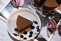 杂粮也能做戚风之暗黑系黑米戚风蛋糕(六寸圆模)的做法