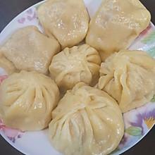 香软玉米面莲藕胡萝卜肉包子