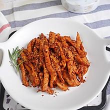 低脂低卡减肥餐❗️能吃出烧烤味的 孜然鸡肉条