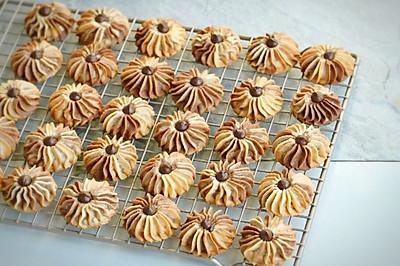 大理石纹路曲奇饼干 双色曲奇饼干