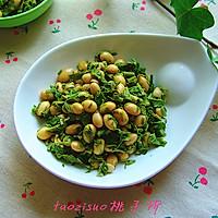 香椿芽拌黄豆