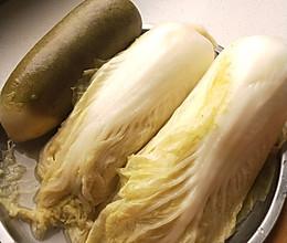 东北家常菜~腌酸菜/酸萝卜的做法