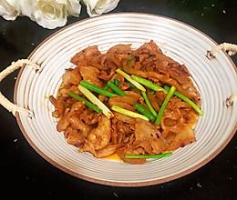 #中秋宴,名厨味#老干妈五花肉炒榨菜丝的做法