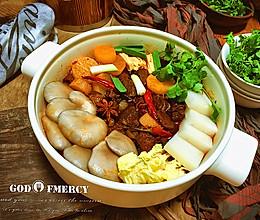 火锅的另类吃法牛腩萝卜锅的做法