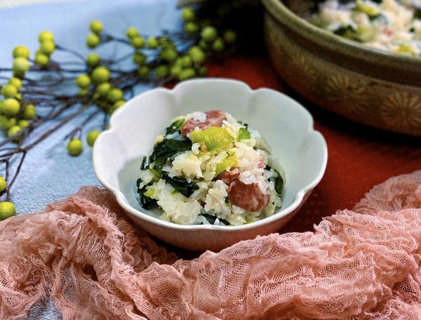天冷了!❤️妈妈叫你回家吃砂锅菜饭喽❤️的做法