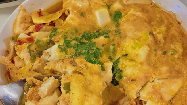 鸡蛋包豆腐的做法