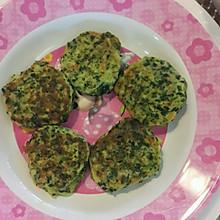一岁半宝宝辅食——鸡肉菠菜土豆饼