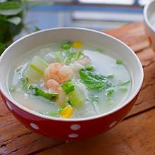 冬瓜虾仁疙瘩汤