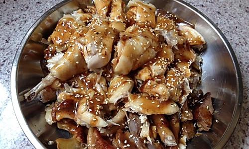 快版盐焗鸡的做法