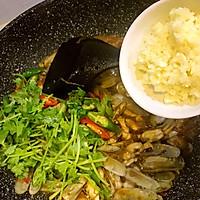 鲜味辣炒蛏子-下酒菜#单挑夏天#的做法图解15