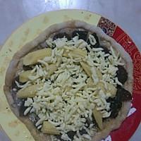 微波炉披萨的做法图解4