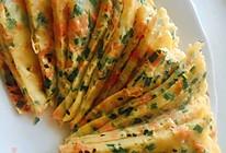 韭菜鸡蛋软饼的做法