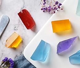 【宝石琥珀糖】可以吃的宝石糖的做法