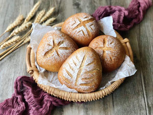 红糖黑麦养生面包的做法