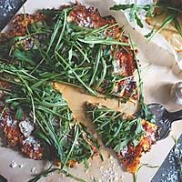 低脂蘑菇芝麻菜披萨【安卡西厨】