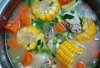 鸡翅玉米萝卜汤的做法