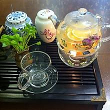 玫瑰花果茶