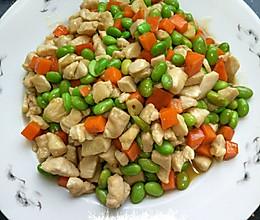 青豆鸡肉丁的做法