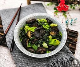 #节后清肠大作战#香菇炒青菜的做法