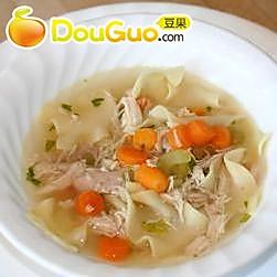 简捷鸡肉汤的做法