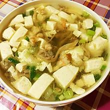 三鲜豆腐羹