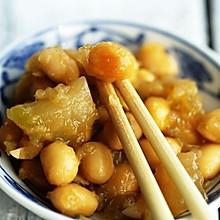 榨菜焖黄豆