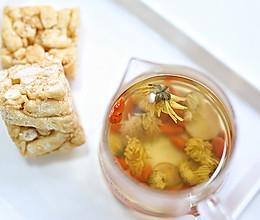 甘草胎菊茶的做法