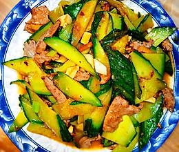 猪肝炒黄瓜的做法