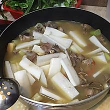 清汤羊肉火锅