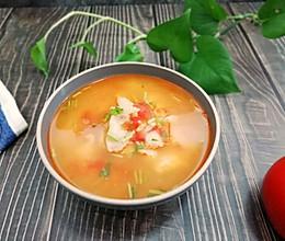 #母亲节,给妈妈做道菜#西红柿龙利鱼汤的做法