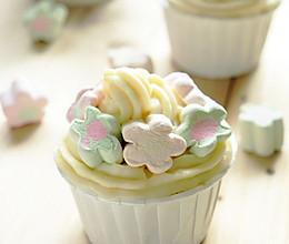 童趣—棉花糖杯子蛋糕的做法