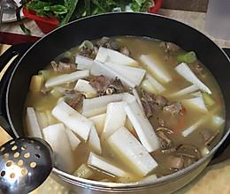 清汤羊肉火锅的做法