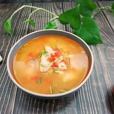 西红柿龙利鱼汤