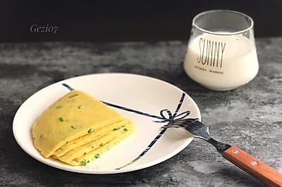 快手营养早餐~葱花鸡蛋煎饼